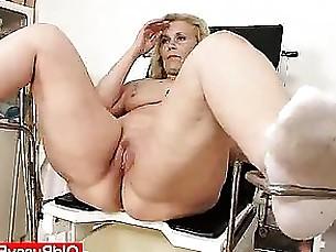 Blonde Cougar BBW Fatty Fetish Kitty MILF Pussy