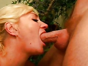 Blonde Blowjob Bus Busty Couple Cumshot Granny Mature