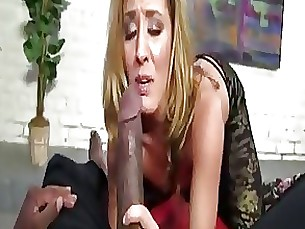 Huge Black Cock Turns Her Inside Out