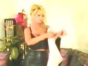 Blonde MILF Stocking Vintage