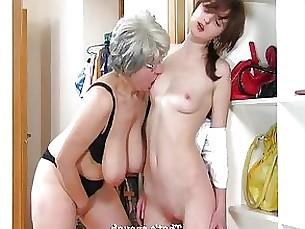 Lesbian Mature MILF Teen