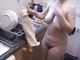 Amateur BBW Hairy Mature Nude