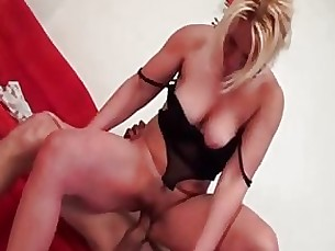 Blonde Couple Fuck Horny Mature Wife