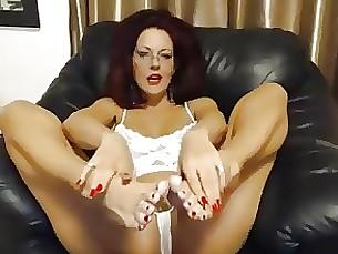 Fetish Mature MILF Tease Webcam