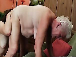 Amateur Granny Horny Licking Mature Teen
