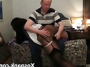 Pervert Chick Appealing Bdsm Spanking