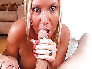 Big Tits Blowjob Couple MILF Pornstar POV