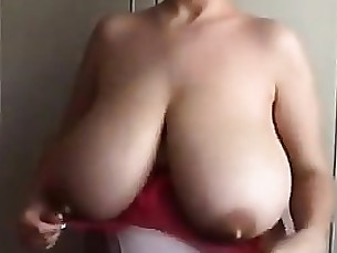 Boobs Mammy MILF Natural Solo Tease Webcam