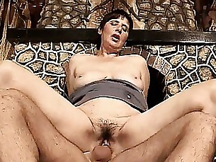 Nasty mature woman goes crazy riding part6