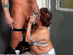 Amateur Blowjob Big Cock BBW Mature