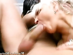 Bisexual granny cunt hard nailed