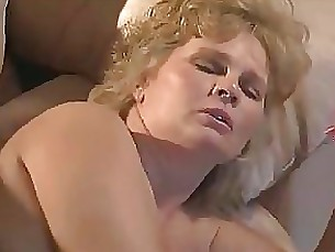 Blonde Blowjob Big Cock Cumshot BBW Fatty Hardcore Hot