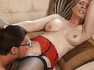 Cumshot MILF Pornstar Teacher