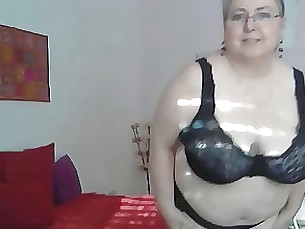 BBW Mature Striptease