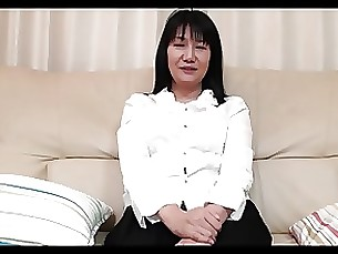55yr old Granny Natsu Sasamoto gets Creamed (Uncensored)