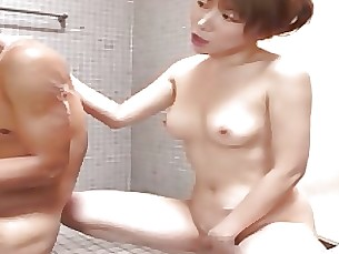 Japanese Mammy Mature MILF Tease