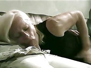 Grey Granny Kathy Has No Time To Waste