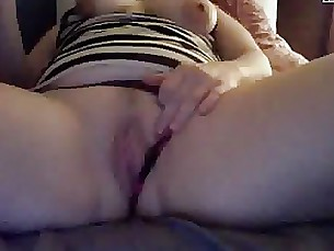 Amateur Big Tits Boobs MILF Playing Webcam