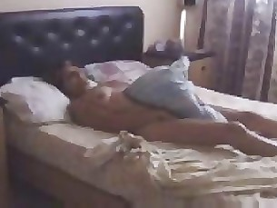 My Horny Mum Masturbating On Bed Caught By Hidden Cam