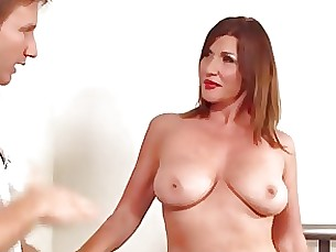 Anal MILF - Hairy Babe Fingered During Massage