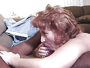 Interracial Mature Redhead