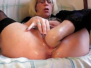 BDSM Blonde Fisting Granny Hairy Masturbation Mature MILF