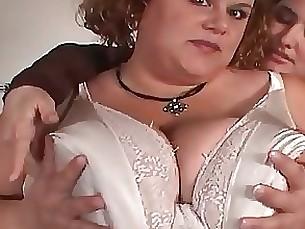 Culo BBW Grasso Lesbica Maturo MILF Uniforme
