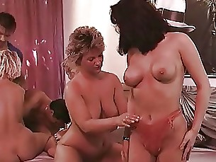 Mature Orgy Threesome