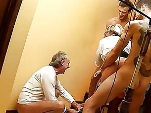 Blonde Hardcore Mammy Mature Threesome Yummy