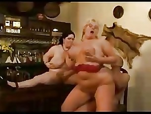 BBW Mature Orgy Threesome