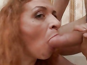 Amateur Big Cock Mature Redhead Ride Teen