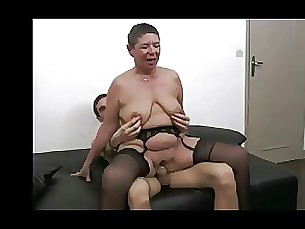 Daddy Enjoys Watching His wife Fucked By Other BVR