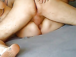 Melba the Milf and her toyboy fucking
