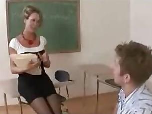 Mature Teacher Brandi Love
