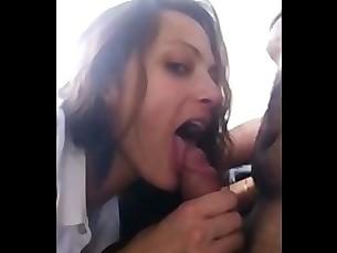 Amateur Blowjob Brunette Cougar Couple MILF Oral Pussy