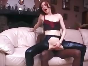 Anal Ass Black Cum Fuck Latex MILF Redhead