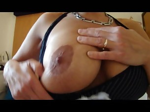 Ass Blowjob Boobs Brunette MILF Natural Nipples POV