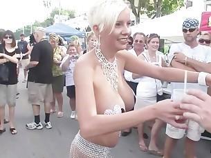 Drunk Panties Public Really Wild