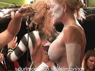 BDSM Fantasy Girlfriend Gorgeous Homemade Innocent Public