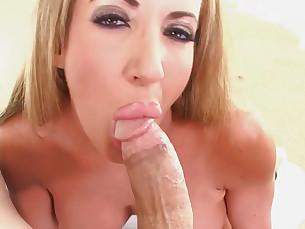 Blowjob Big Cock Cum Cumshot HD Huge Cock Mouthful POV