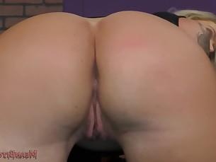 Ass Blonde Licking Slave Mistress