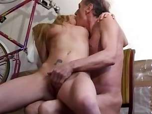 Blowjob Double Penetration Granny Mature Old and Young Teen