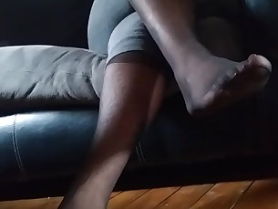 Amateur Ebony BBW Feet Fetish Foot Fetish Hairy Mature