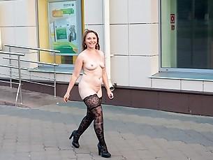 Amateur Ass Hot Mammy MILF Nude Outdoor Public