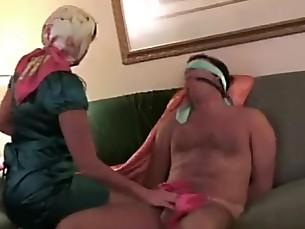 BDSM Car Fetish Handjob Mammy MILF Punished Slave