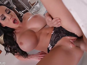 Babe Big Tits Blowjob Boobs Brunette Bus Busty Curvy