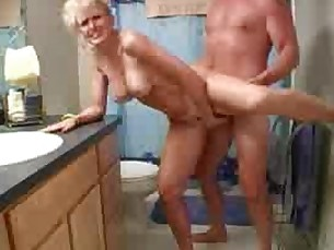 Amateur Bathroom Big Tits Blonde Couple Doggy Style Hardcore Homemade