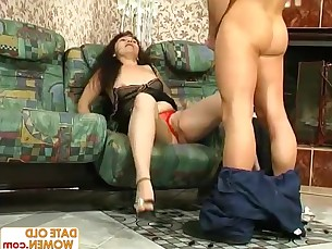 Blowjob Fuck Horny Housewife Licking Mammy Mature MILF