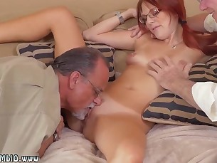 Doggy Style Friends Innocent Little Mammy Old and Young Redhead Shaved