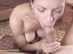 Amateur Big Tits Blowjob Brunette Big Cock Cumshot Doggy Style Hardcore